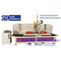 Buy cheap Fully-auto Cutting & Hole Puncher Machine for Luggage Suitcase Production product