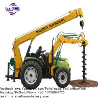 Buy cheap Auger Crane Pile Driver Machine from wholesalers