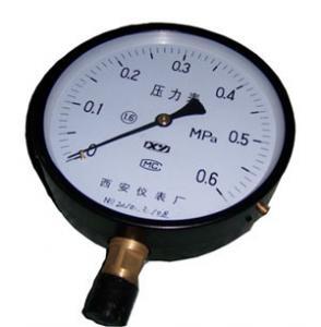 China Bourdon tube pressure gauges Y-40 on sale