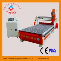 China Automatic tool changer wood cnc router with 8 knives stores TYE-25H on sale