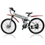 Buy cheap 26 Inches Electric City Bike 250 Watt 36 V Lightweight Folding Hybrid Type product