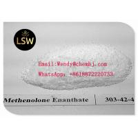 Buy cheap White Color Legal Anabolic Steroids Powder Methenolone Enanthate CAS 303-42-4 from wholesalers