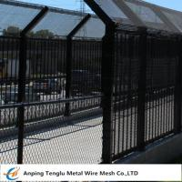 Buy cheap Bridge Fence|Anti-Throw Coated Driveway Bridge Wire Fencing 40x80mm Opening China product