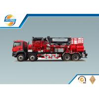 Buy cheap Red Fracturing Pump Truck Oilfield Vehicles Model SYL3000-140Q product