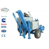 Buy cheap 2.5km/H Electrical Cable Pulling Equipment , 4800kg Hydraulic Cable Puller product