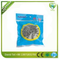 Buy cheap household cleaning steel wool ball clean the pot stainless mesh scourer product