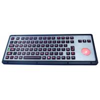 Buy cheap Teclado industrial backlit IP65 robusto com chaves do polímero, com trackball from wholesalers