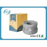 Buy cheap Twisted Pairs Cat6 Lan Cable , 1000ft Shielded FTP Lan Cable With 5.8mm PVC Jacket product
