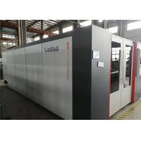 Buy cheap Stable High Precision Fiber Laser Cutting Machine 120m/min Max Moving Speed product