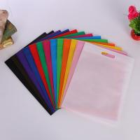 Buy cheap Reusable Non Woven Fabric D Cut Bags Personalised Grocery Company Logo Eco Friendly product