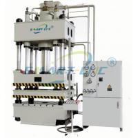 Buy cheap White Benchtop Hydraulic Press Equipment 3 Beam 4 Column Structure High Reliability product
