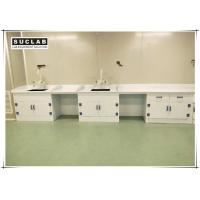 Buy cheap Chemical Lab Furniture Polypropylene Countertop With PP Drip Rack And Water Outlet product