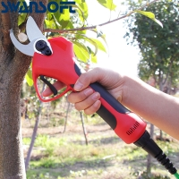 Buy cheap Swansoft 35mm 43.2V Electric Bypass Pruner Fruit Orchard Pruning Shear product