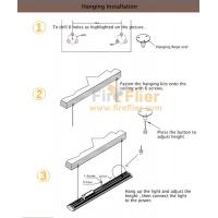 150w Linear Led Light Fixture: Linear High Bay Light Fixture Ilvery Grey USA 100w High