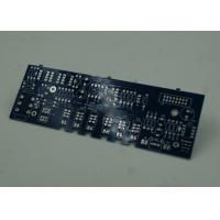 Buy cheap Blue FR4 PCB Printed Circuit Board Immersion Silver Finish White Silkscreen product