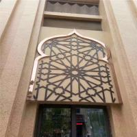 Buy cheap Mirror Rose Gold Stainless Steel Perforated Panels For Hotels/Villa/Lobby from wholesalers