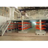 Buy cheap Supply Chain 800 mm Length Cantilever Storage Racks 100 Kg Upright Load product