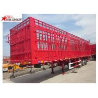Buy cheap 600-1000mm Curtin Side Wall Semi Trailer SAF Brand Two Speed Landing Gear product