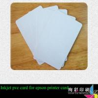 Buy cheap Offset Printing / CMYK Gift Printed Plastic Cards With Scratch Panel product
