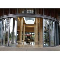 Buy cheap Single Panel Glass Partition Wall , Conference Hall Glass Office Partitions High Strength product