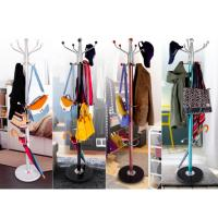 Buy cheap Colorful Clothes Hanger Stand , Umbrella Bag Hat And Coat Stand With Marble Base product