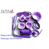 Buy cheap Purple male bondage devices Restraints Alternative Sex Toy Set 7 Piece Adult Game Toy product