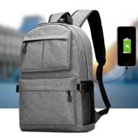Buy cheap Waterproof Oxford Men'S College Backpacks For Laptop  USB Charging Interface product
