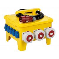 Buy cheap Portable Temporary Power Distribution Center Polyethylene Strong Plastic Housing product