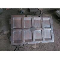 China Manganese Steel , Cr - Mo Alloy Steel Crusher Wear Parts DF008 on sale