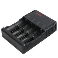 Buy cheap Lightweight Compact C4 Battery Charger , 4 Slot 18650 Battery Charger 176g product