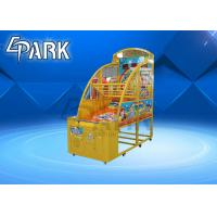 Buy cheap Kids Coin Operated Basketball Machines / Commercial Basketball Arcade Game 220V product