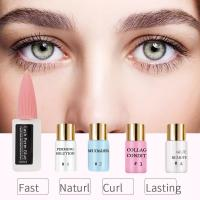 Buy cheap Comestic Eyelash Lift Kit Curling Permanent Lotion Full Solution Kit Set With MSDS Certificate product