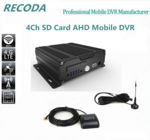 Buy cheap Двойные ISO поддержки mdvr шины 4G видеозаписывающего устройства 4ch SD цифров & from wholesalers