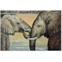 Buy cheap Best Price For Handmade Animal Decoration Painting On Canvas product