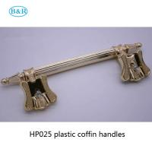 Quality HP025 European style casket decoration plastic coffin handles for sale