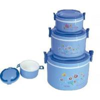 China Plastic Food Storage Container, 4 PCS Set (LFR1181) on sale