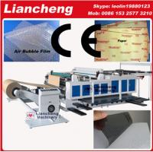 Buy cheap Bubble film, EPE, paper, plastic etc PLC DC paper sheet cutting machine product
