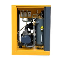 Buy cheap 60HP Power saving screw air compressor with Permanent Magnet Synchronous Motor 145psi product