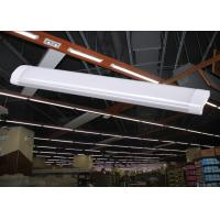 China Low Profile LED linear light fixtures 1200mm 40W 120lm/W 4800lm surface mount lamps IP44 wholesale