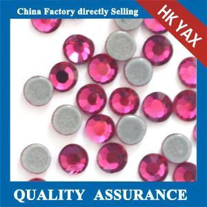 Buy cheap 0527C Free sample flat back DMC rhinestone, round DMC crystal rhinestone, wholesale DMC rhinestone for garment product