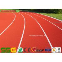 Buy cheap Red Self-forming Surface Mixed PU Atheletic Sport Running Track product