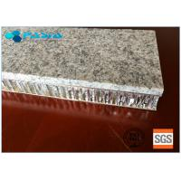 China 20 Mm Thickness Light Weight Onyx Honeycomb Stone Panels Small Radiation Pollution on sale