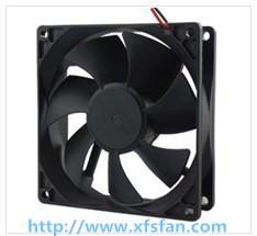 Buy cheap 92*92*25mm 12V/24V/48V DCの黒のプラスチック ブラシレス冷却ファンDC9225 product