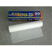 China 39g/40g  white Silicone Parchment Paper for Baking made in China on sale