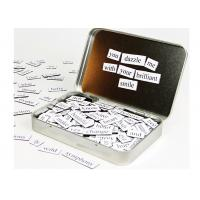 China Kids Letters Fridge Magnetic Poetry Kit  5'' x 6'' Children's Learning Toys on sale