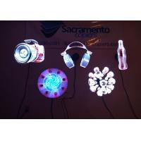 Buy cheap LED Fan Kinomo 3D Hologram Display , Hologram Projection Screen Advertising Player Plug And Play product