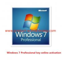 Buy cheap Windows 7 Product Key Code For Microsoft Win 7 Professional OEM Key Stable product