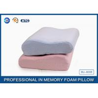 China Anti-mite Ergonomic Memory Foam Contour Pillow Back Sleeper for Cervical Spine wholesale