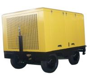 China JBC-17.0/7 Diesel engine portable screw compressor on sale