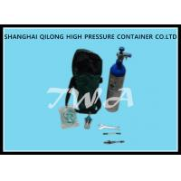 Buy cheap Scba 1.5-12L Aluminum Pressure Tank / Life Gas Oxygen Cylinder product